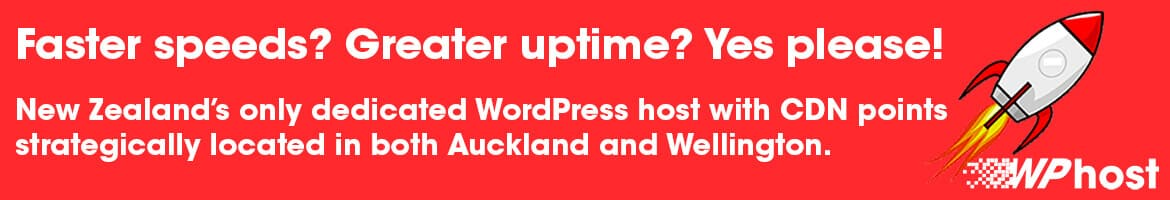 Faster WordPress speeds? Greater WordPress uptime? Yes please!