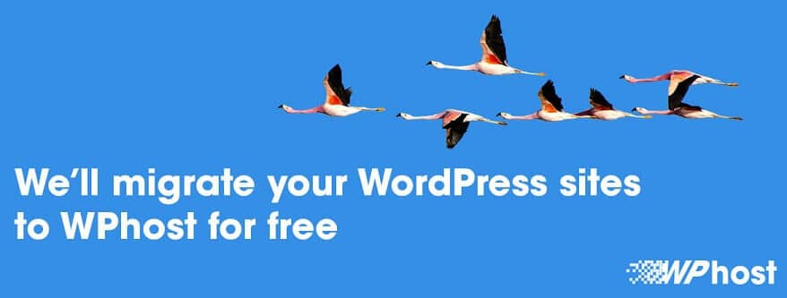 Free WordPress migration to WPhost