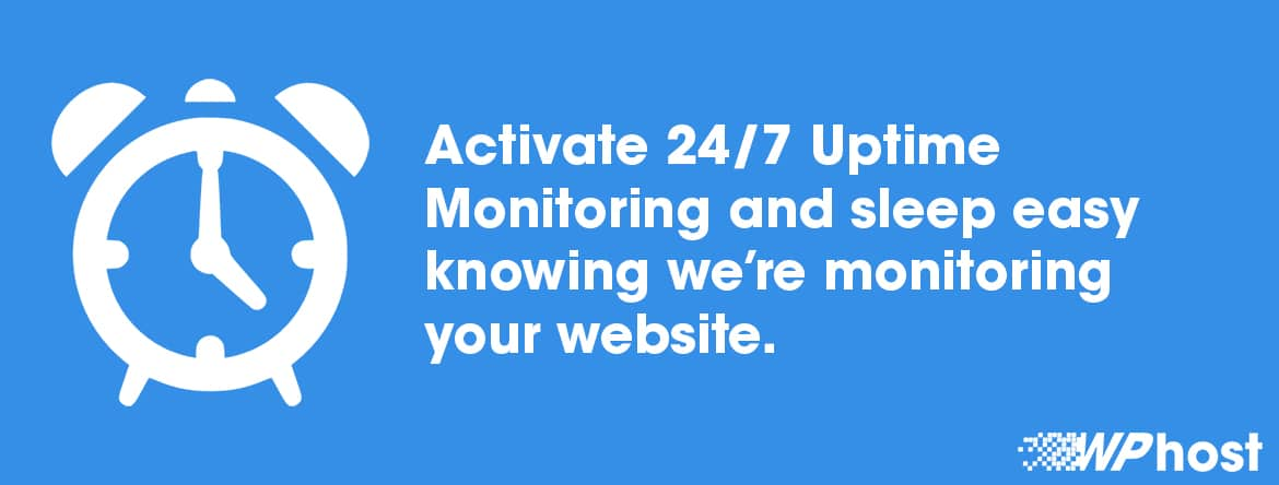 24/7 WordPress Website Uptime Monitoring