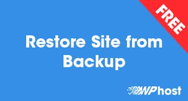 Restore Site from Backup