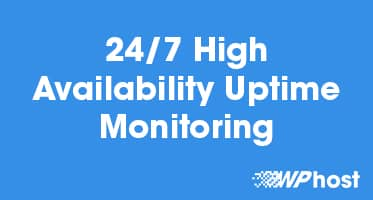 24/7 High Availability Uptime Monitoring