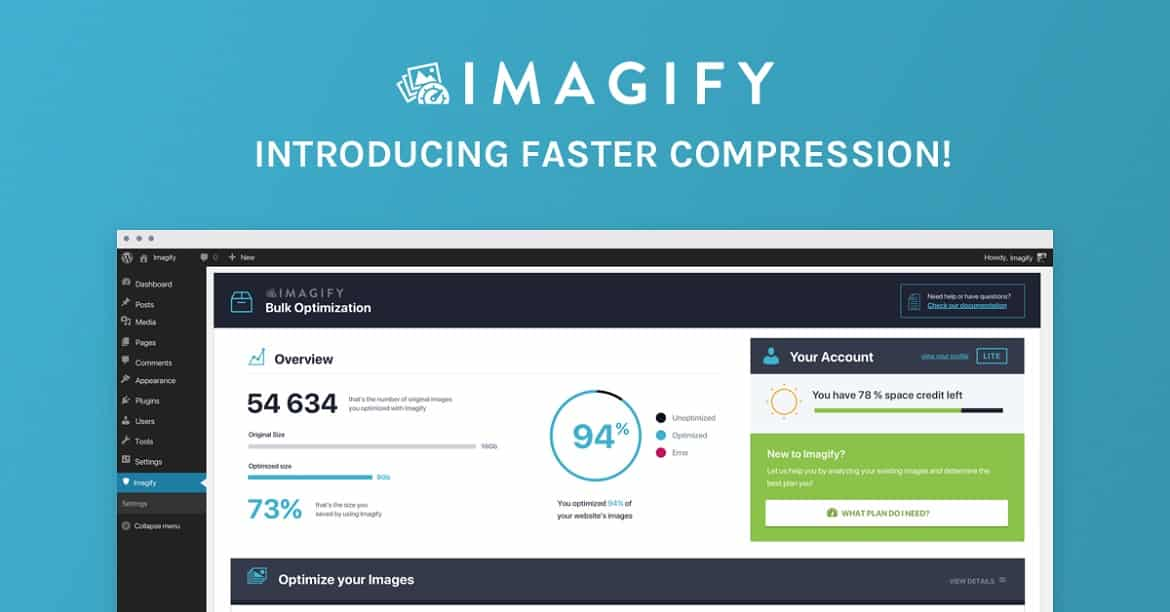 Imagify Introducing Faster Compression